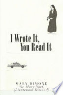 I Wrote It  You Read It Book