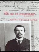 The Origins of Criminology