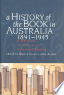 A History of the Book in Australia, 1891-1945