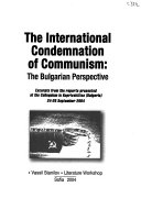 The International Condemnation of Communism