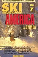 Ski Snowboard America And Canada