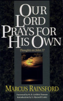 Our Lord Prays for His Own Pdf/ePub eBook