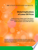 Global Implications of Lower Oil Prices