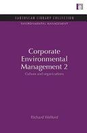 Corporate Environmental Management 2