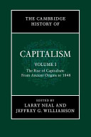 The Cambridge History of Capitalism