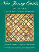 New Jersey Quilts 1777 to 1950