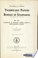 Properties of Portland Cement Having a High Magnesia Content Book