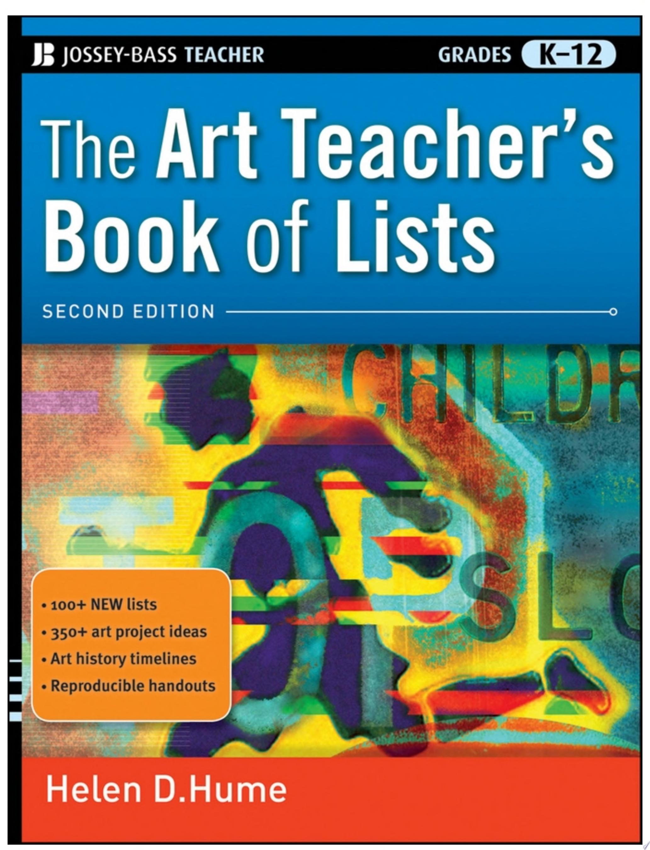 The Art Teacher s Book of Lists