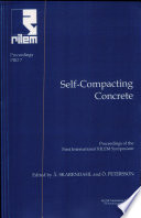 Pro 7 1st International Rilem Symposium On Self Compacting Concrete PDF