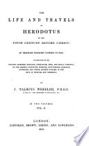 The Life and Travels of Herodotus Book