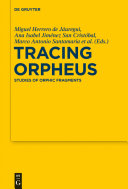 Pdf Tracing Orpheus Telecharger