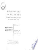 Sugar Statistics And Related Data