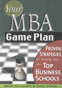 Your Mba Game Plan Book PDF