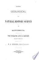 Annual Report Geological And Natural History Survey Of Minnesota PDF