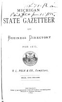 Michigan State Gazetteer and Business Directory for ...