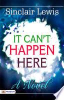 It can t happen here  a novel