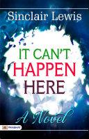 Pdf It can't happen here, a novel Telecharger