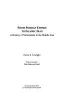 From Persian Empire to Islamic Iran