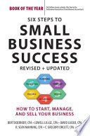 Six Steps to Small Business Success Book