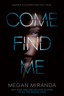 Come Find Me [Pdf/ePub] eBook