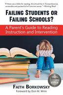 Failing Students Or Failing Schools