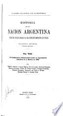 Historia de la nación Argentina