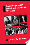 Contemporary Mexican Women Writers PDF
