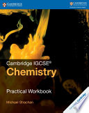 Books - Cambridge Igcse� Chemistry Practical Workbook | ISBN 9781316609460