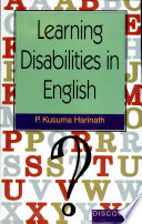 Learning Disabilities in English Book