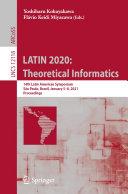 LATIN 2020  Theoretical Informatics