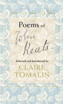 Poems of John Keats Book