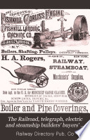 The Railroad  Telegraph  Electric and Steamship Builders  Buyers  Guide and Directory