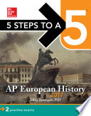 5 Steps to a 5  AP European History 2017