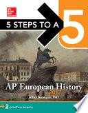 5 Steps to a 5  AP European History 2017 Book