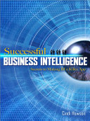 Successful Business Intelligence  Secrets to Making BI a Killer App