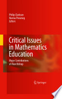Critical Issues in Mathematics Education Book