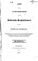 Pdf Acts Passed at the ... Session of the Legislature of the State of Louisiana ...
