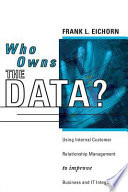 Who Owns The Data  Book PDF