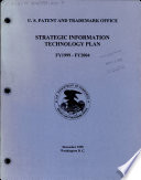 Strategic Information Technology Plan FY 1999 FY 2004