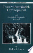 Toward Sustainable Development Book PDF