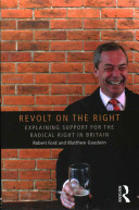 Revolt on the right : explaining support for the radical right in Britain