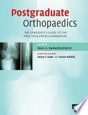 Postgraduate Orthopaedics Book