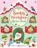 Santa's Workshop Sticker Book