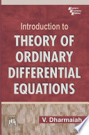 INTRODUCTION TO THEORY OF ORDINARY DIFFERENTIAL EQUATION Book