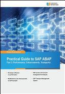 Practical Guide to SAP ABAP Part 2  Performance  Enhancements  Transports