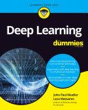 Deep Learning For Dummies Pdf/ePub eBook