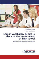 English Vocabulary Games in the Adaptive Environment of High School