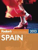Fodor's Spain 2013