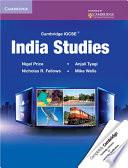Books - Cambridge Igcse� India Studies Coursebook | ISBN 9780521149235