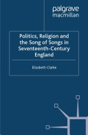 Pdf Politics, Religion and the Song of Songs in Seventeenth-Century England